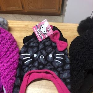 Girls knit winter wear